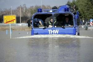 Hochwasser THW