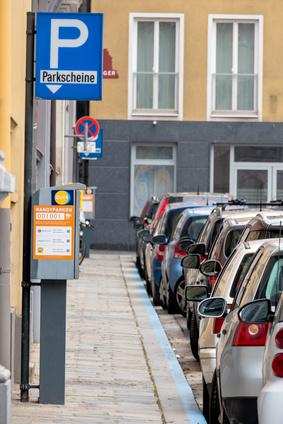 Parken in Deutschlands Großstädten ist eine Herausforderung