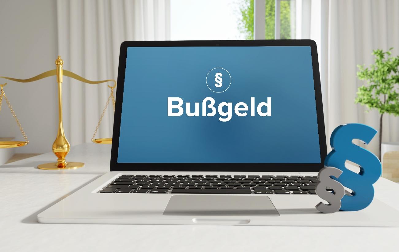 Bußgeldkatalog Laptop